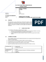 ECO2063 Scheme of Work
