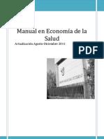 Manual en Economía de la Salud