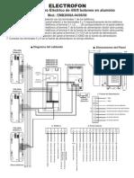 Manual Panel Electrofon Emb2008a-04!06!08