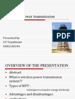 Wireless Power Transmission | Electric Power Transmission