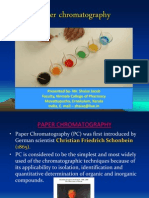 Paper Chromatography ppt