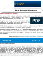 What Are Real Rational Numbers