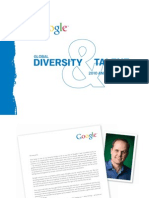 Google 2010 Report on Global Diversity and Inclusion