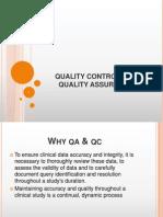 QA & QC in Clinical trial