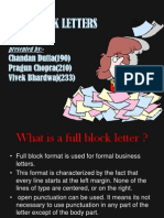 Full Block Ppt