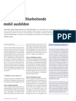 Stoller-Schai 2012 - Kunden und Mitarbeitende mobil ausbilden