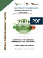 Ecoformacion y ecopedagogia