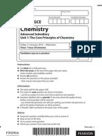 Chemistry Jan2012 unit-1 QP