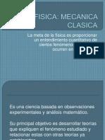 MECANICA CLASICA basica