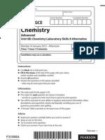 Chemistry Jan2012 unit-6B QP