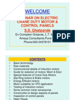 Basics of Motors & Control Panel
