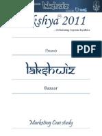 Bazaar Nitie Competition