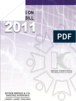 Comments on Finance Bill 2011-12