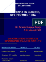 pia en Diabetes, Dislipidemia e Hta