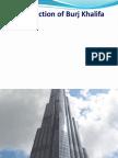 Construction of Burj Khalifa