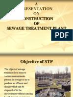 Construction of Sewage Treatment Plant
