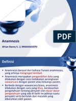 1. Anamnesis