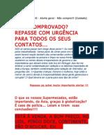 PEIXE PANGASIUS_alerta geral_Perigo para a saúde pública