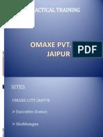 Practical Training Omaxe Pvt. Ltd