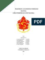 Laporan Praktikum Anatomi Dan Fisiologi Manusia