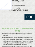 Sedimentation and Sedimentation Tanks