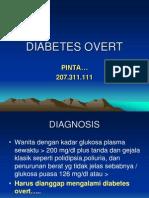 Diabetes Overt