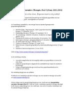 Jaaropleiding Narratieve Therapie (PDF)