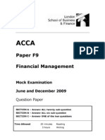 ACCA F9
