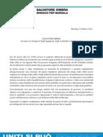 Salvatore Ombra e Le Categorie Ingegneri-Architetti-Geometri