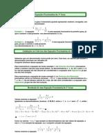 Equações Fracionárias do 1º Grau