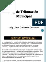 Clase 5 TUO Ley de Tributacion Municipal