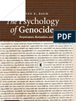 The Psychology of Genocide
