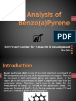 Analysis of Benzo(a)Pyrene