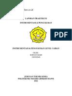 Instrumentasi Pengukuran Level Cairan d3 2012