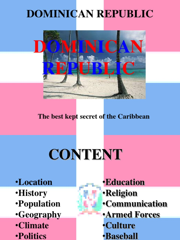 dominican republic geography and climate