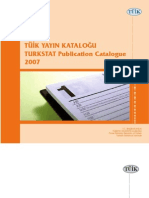 TUIK Stats Catalog
