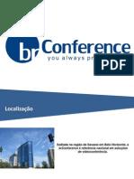 Apresentação brConference - videoconferência