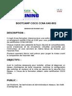 Formation Cisco 640-802