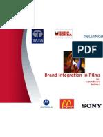 Brand Inegration in Films