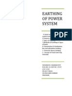 Earthing of Power System1
