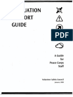 Peace Corps Evacuation Support Guide  |  2000