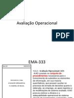 Avaliação Operacional