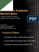 Exercising Feminism Behind Bars Full