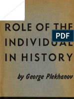 47657280 Plekhanov the Role of the Individual in History