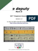 Deputy Manual 1 0