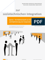 aperto - Ein Rahmenwerk zur Auswahl, Einführung und Optimierung von Corporate Social Software