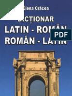 CRACEA, Elena - Dictionar român-latin & latin-român