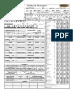 [Ficha] D&D 3.5 interativa