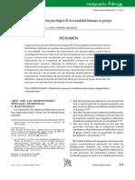 Investigacion Intervencion en Disfunsion Sexual en La Pareja
