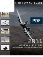Air National Guard 2011 Weapons Systems Modernization Requirements Tdc